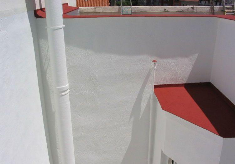 Pinturas de patios Madrid - Sol Fachadas