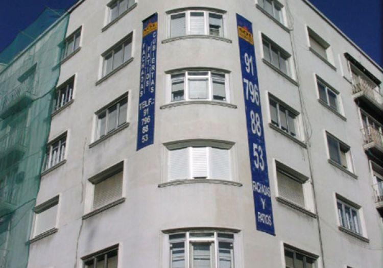 Trabajos de pintura de fachadas en Madrid   Sol Fachadas.