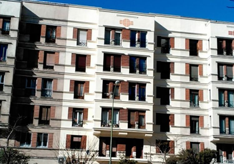 Trabajos de pintura de fachadas en Madrid | Sol Fachadas.