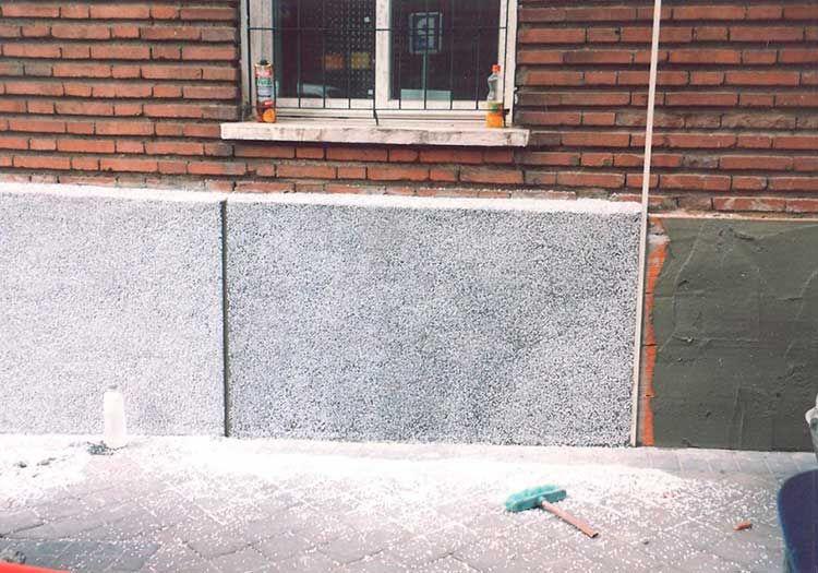 Aislante termico en fachadas Madrid - Sol Fachadas