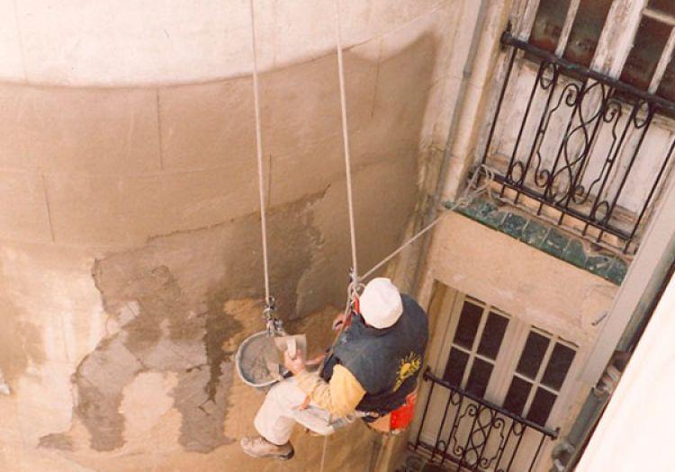 Trabajos Verticales en Madrid - Trabajos de Altura Sol Fachadas